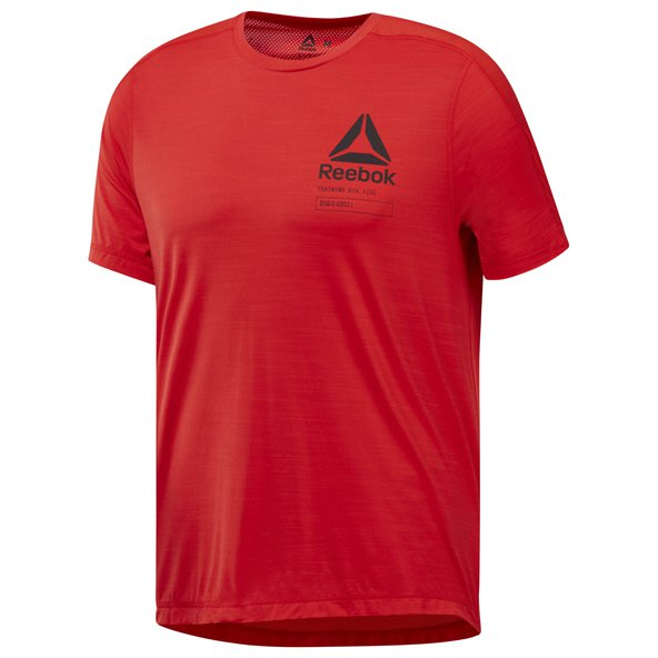 Reebok Activchill Graphic Mens T-Shirt  Red