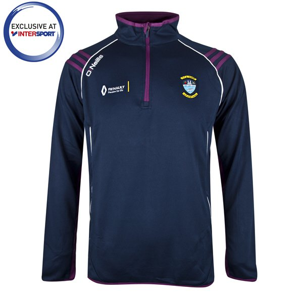 O'Neills Westmeath Trento Men's ½ Zip Squad Top, Navy