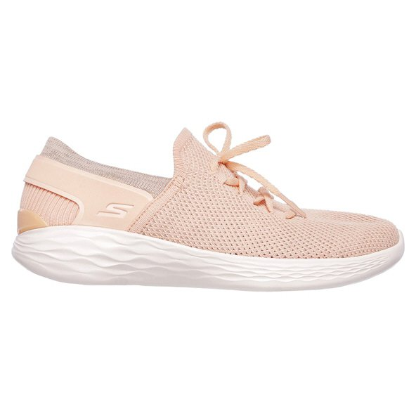 Skechers YOU Women's Walking Shoe, Peach