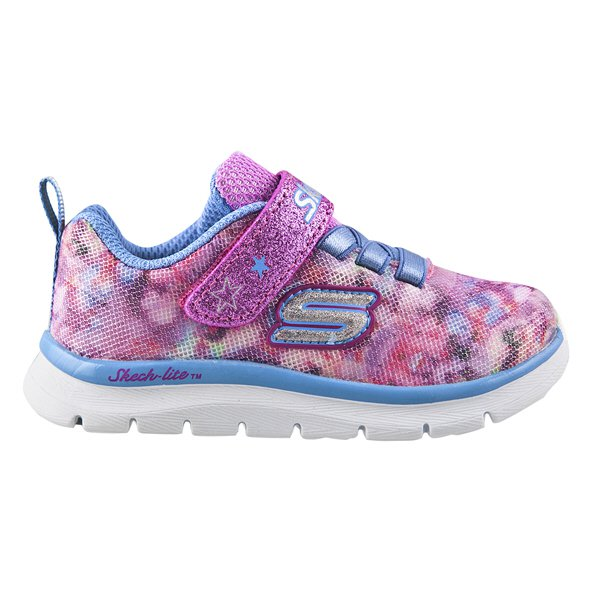 Skechers Skech-Lite Blossom Cutie Infant Girls' Trainer, Pink