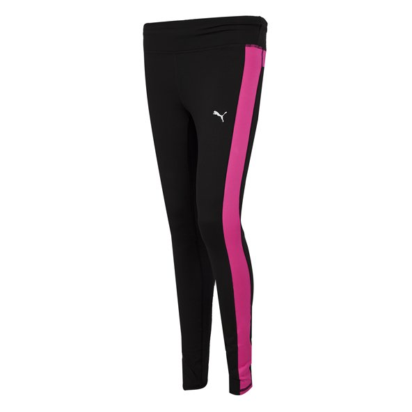 Puma Speed Girls' Long Tight, Black
