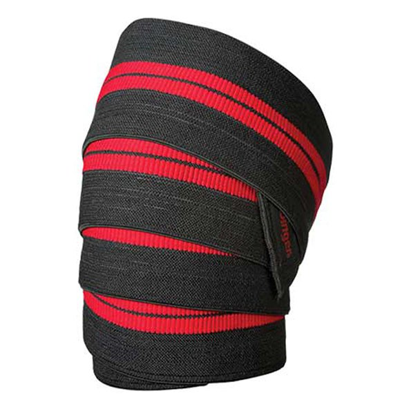 Harbinger Red Line Knee Wraps, Black