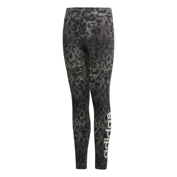 adidas Performance Linear Girls' Tight, Black
