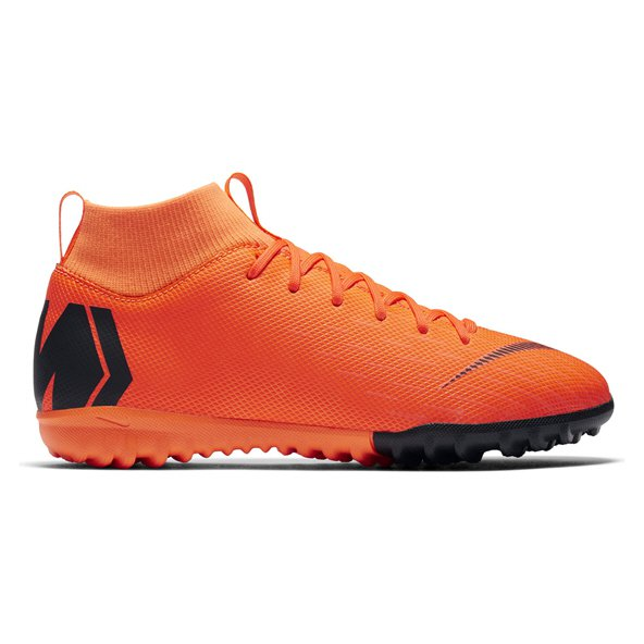 Nike Mercurial SuperflyX 6 Academy Kids' Astro Boot, Orange