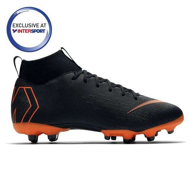 258049a0d ... spain black nike mercurial superfly 6 academy fg kids football boot  59f18 48343 shop ...
