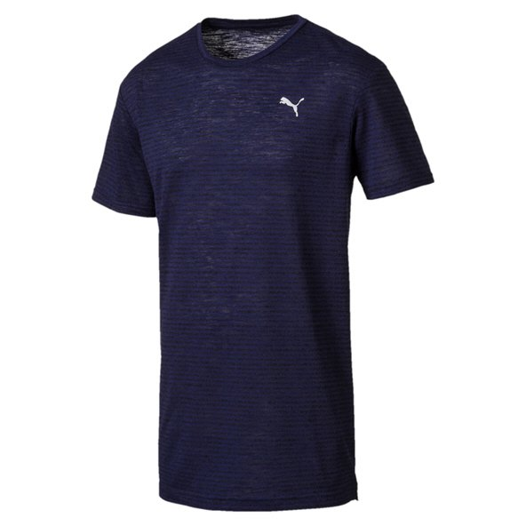 Puma drirelease Graphic Men's T-Shirt, Navy