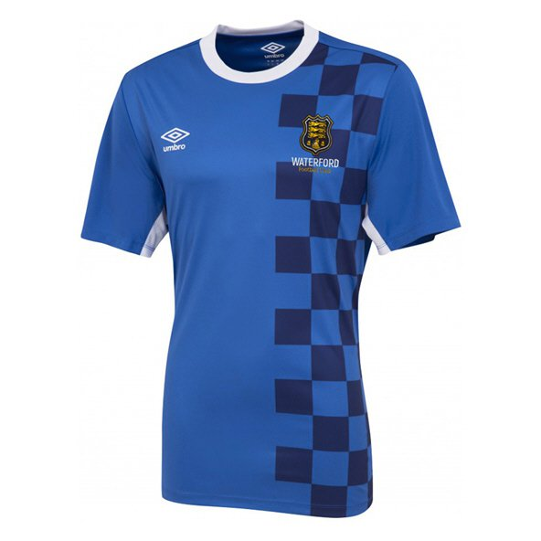Umbro Waterford FC Home 18 Kids Jersey Blue