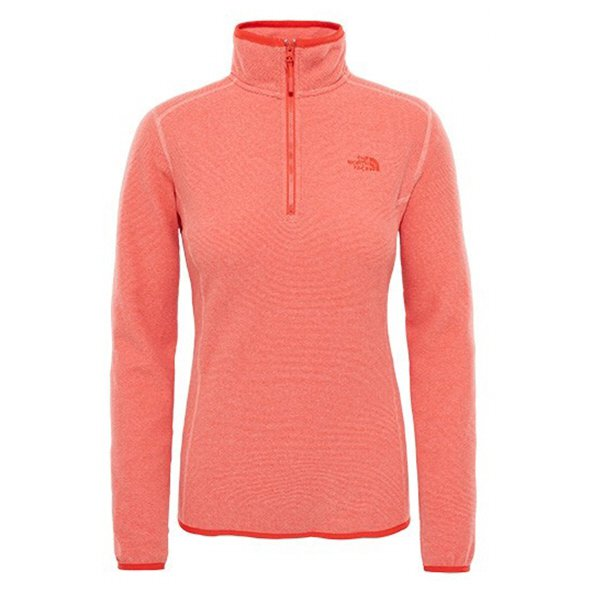 The NorthFace 100 Glacier 1/4 Zip Flower