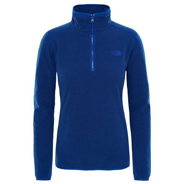 The NorthFace 100 Glacier W 1/4 Zip Blue