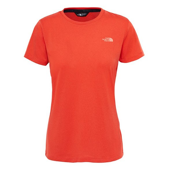 The NorthFace Tanken Wmns Tee Red