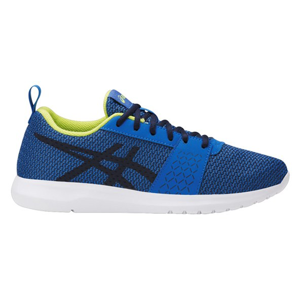 Asics Kanmei Boys' Running Shoe, Blue