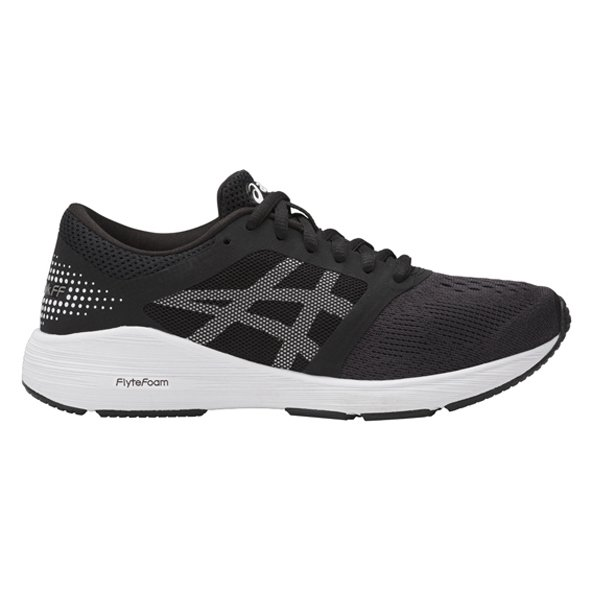 Asics Roadhawk FF GS Boys' Running Shoe, Black