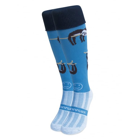 Wacky Sox The Sloth Athlete, Blue