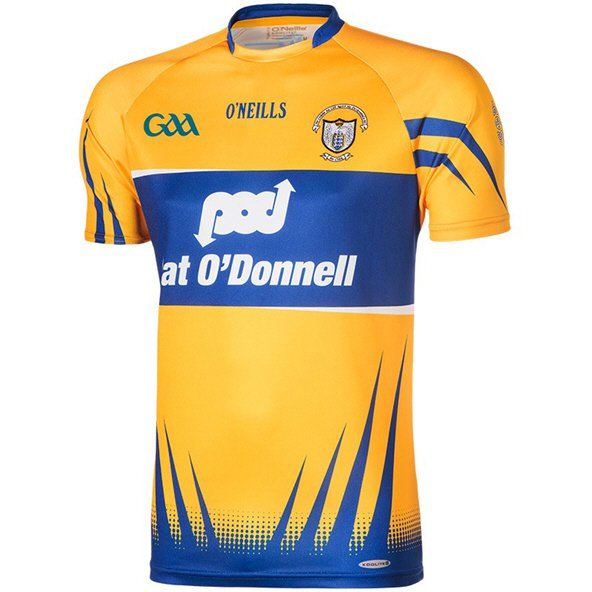 O'Neills Clare Home Player Fit Jersey Yellow