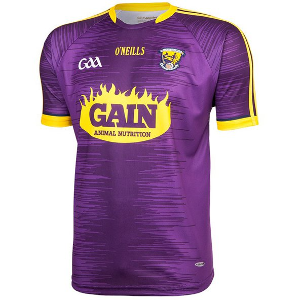 O'Neills Wexford Hm Play Fit Jersey Purp