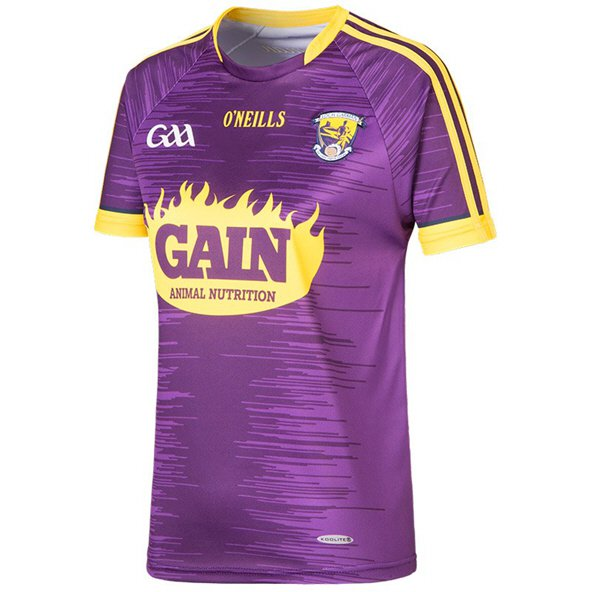 O'Neills Wexford 2017 Women's Home Jersey, Purple