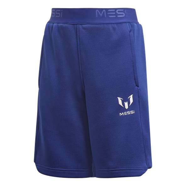 adidas Messi Boys Knit Shorts Unity Ink