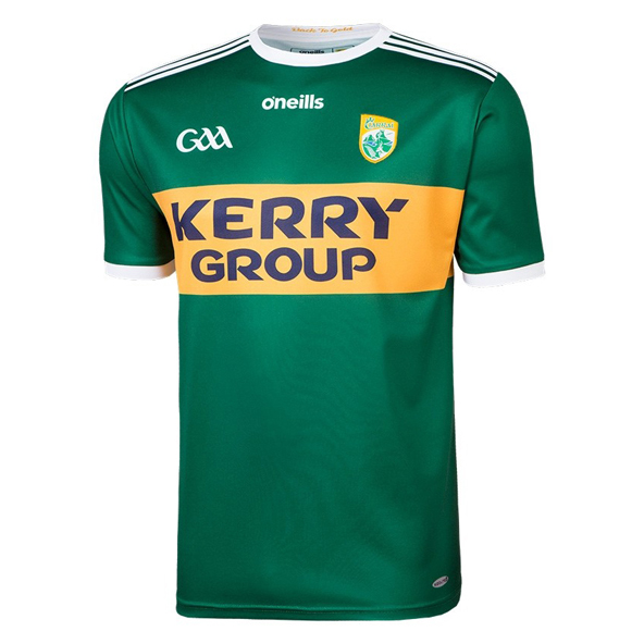 O'Neills Kerry 2018 Home Player Fit Jersey, Green