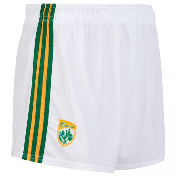 O'Neills Kerry 18 Home Shorts White