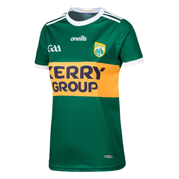O'Neills Kerry Hm 18 Wmn Fit Jers Green