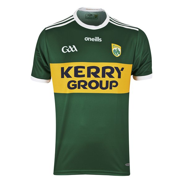 O'Neills Kerry 18 Home Kids Jersey Green