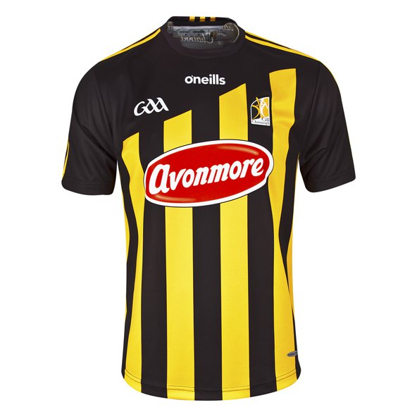 O'Neills Kilkenny 2018 Home Player Fit Jersey, Black