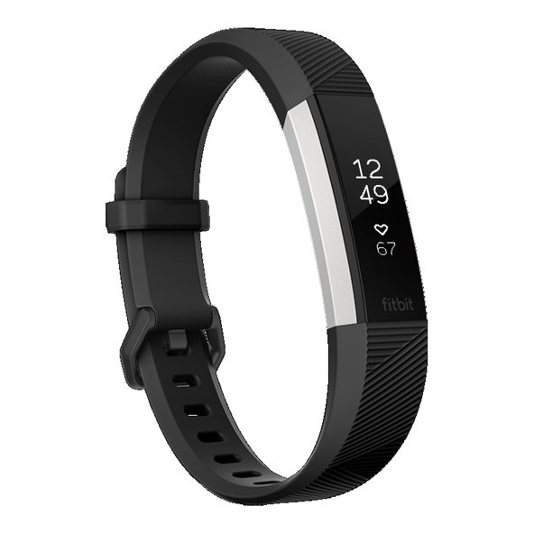 FitBit Alta™ HR Fitness Band - Large, Black
