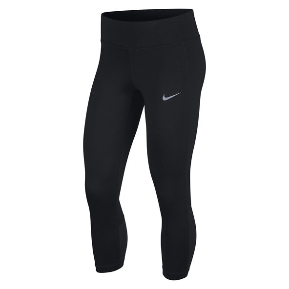 Nike Wmn Racer Running Crop Black