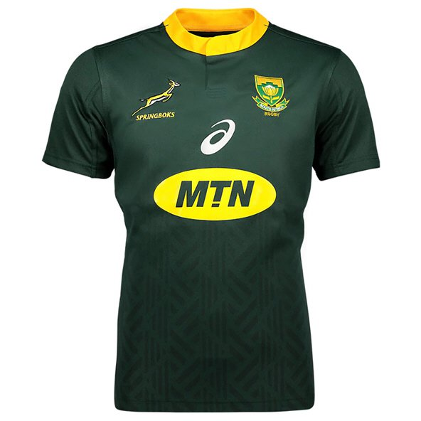 Asics South Africa 2018 Home Jersey, Green