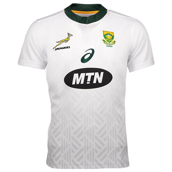 Asics South Africa 2018 Away Jersey, White