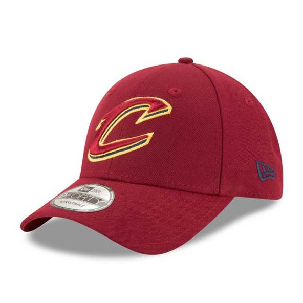 New Era Cleveland Cavaliers 9Forty Cap, Red