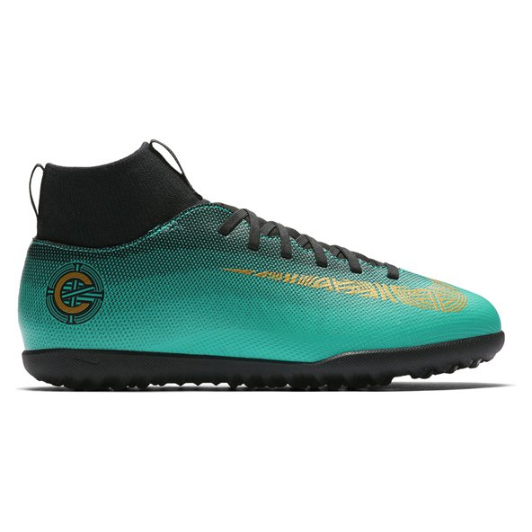 Nike Mercurial Superfly 6 Club CR7 Kids' Astro Boot, Green