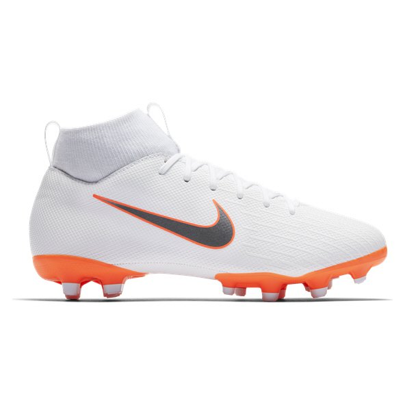 Nike Mercurial Superfly 6 Academy Kids' Football Boot, White