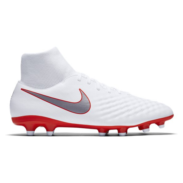 Nike Obra 2 Academy DF FG Football Boot, White