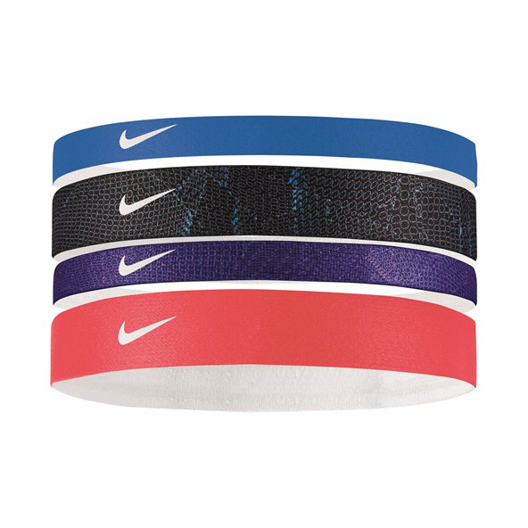 Nike Printed Headbands Asst 4pk