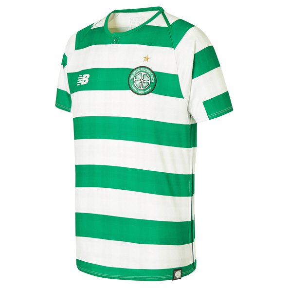 New Balance Celtic 2018/19 Kids' Home Jersey, Green