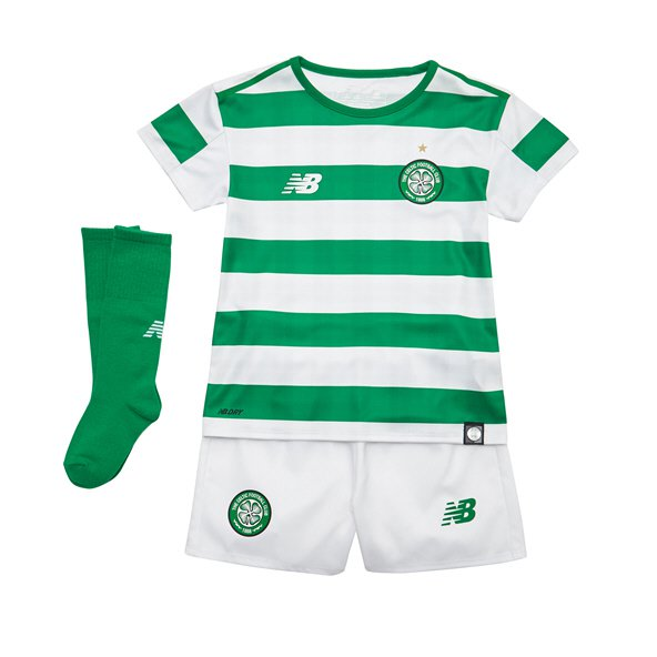 New Balance Celtic 2018/19 Infant Kit, Green