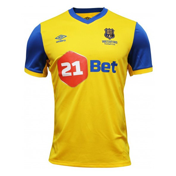Umbro Waterford 18 FC Away Jersey Yellow