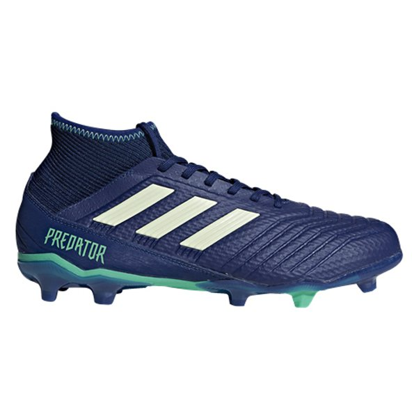 adidas Predator 18.3 FG Football Boot, Blue