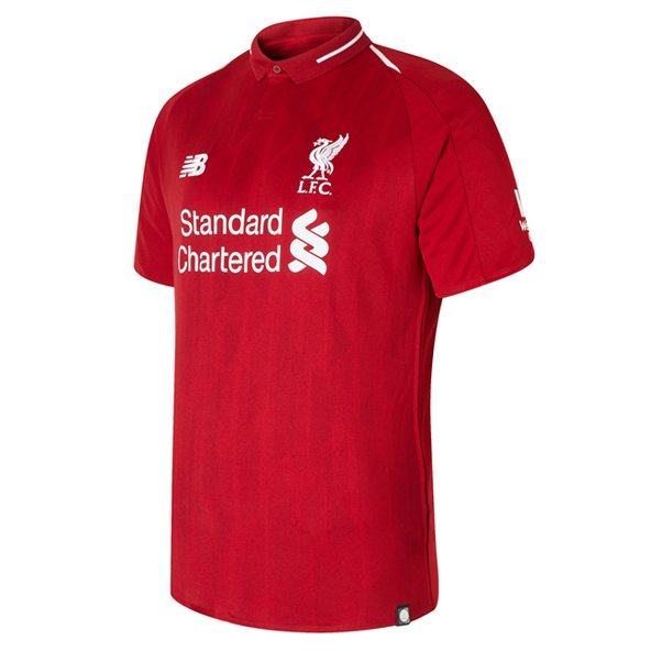 New Balance Liverpool 2018/19 Home Jersey, Red