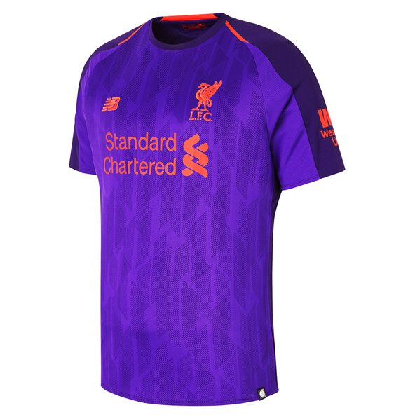 New Balance Liverpool 2018/19 Away Jersey, Purple
