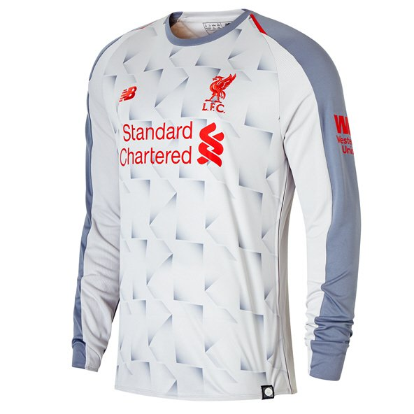 New Balance Liverpool 2018/19 LS 3rd Jersey, Grey