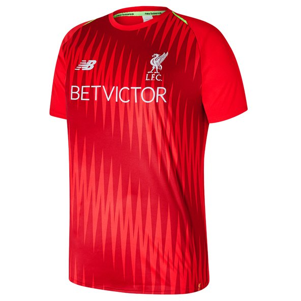 NB Liverpool 2018/19 Match Training Jersey, Red