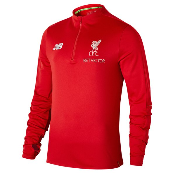 NB Liverpool 2018/19 Training Hybrid Sweater, Red
