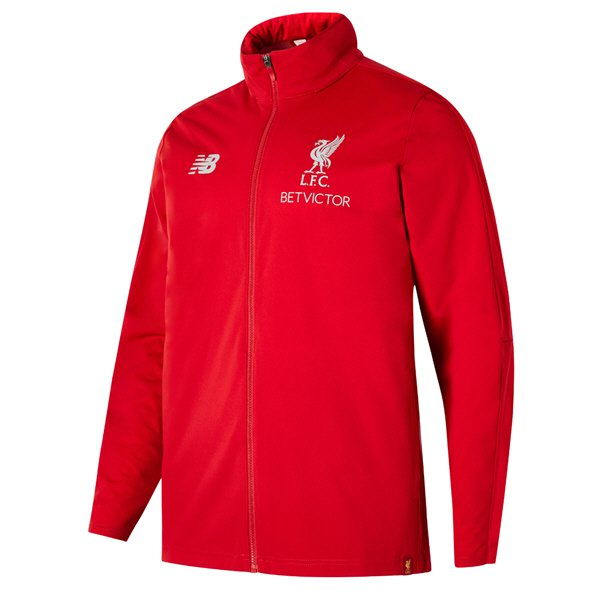 NB Liverpool 2018/19 Training Rain Jacket, Red