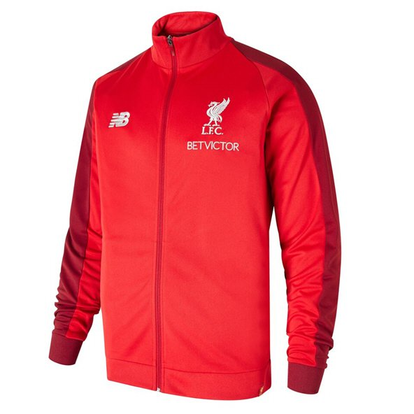 NB Liverpool 2018/19 Training Presentation Jacket, Red