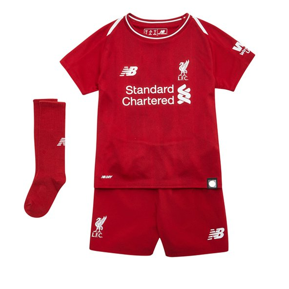 New Balance Liverpool 2018/19 Infant Kit, Red