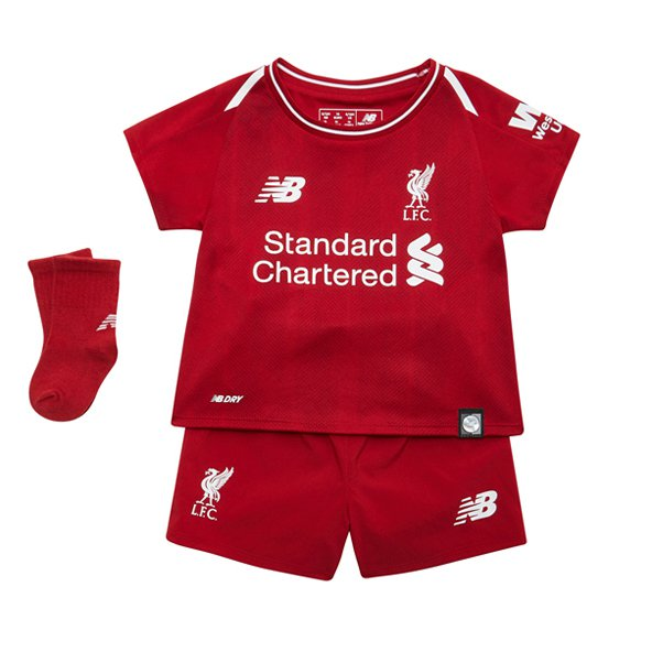 New Balance Liverpool 2018/19 Baby Kit, Red
