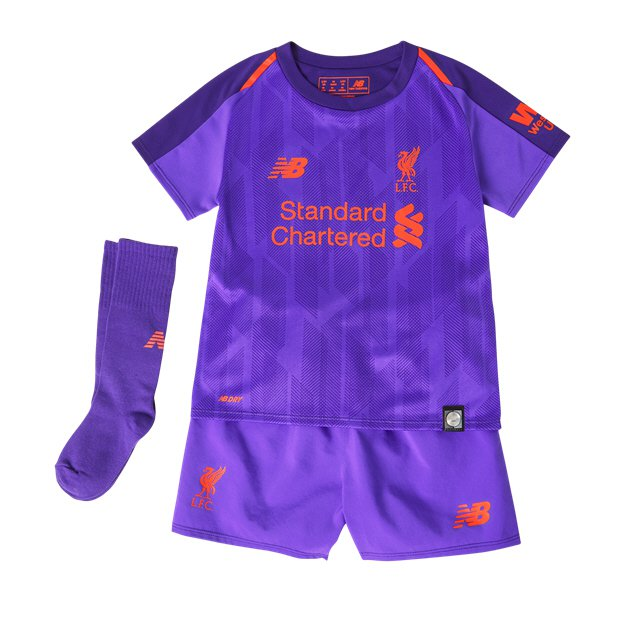 0a60cd4af ... New Balance Liverpool 2018 19 Away Infant Kit
