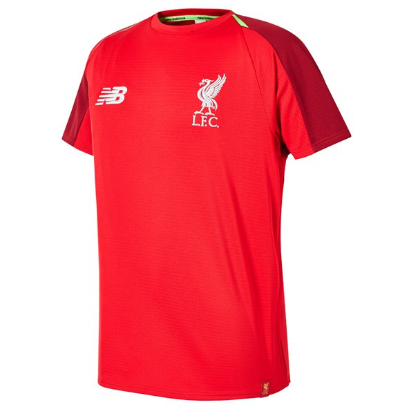 NB Liverpool 2018/19 Kids' Training Jersey, Red